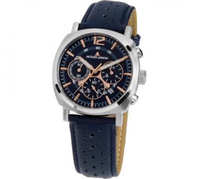 JACQUES LEMANS Lugano Men's Chrono