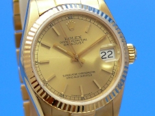 Rolex Datejust Medium 18K Gelbgold