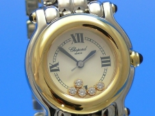 Chopard Happy Sport 26 mm Stahl/Gold