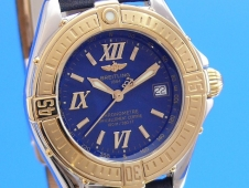 Breitling Windrider Lady B-Class Stahl/Gold 750K