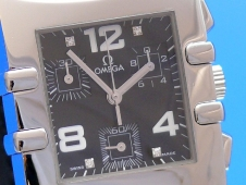 Omega Constellation Quadra Diamant Chronograph