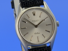 Rolex Cellini 18K Weißgold Lady