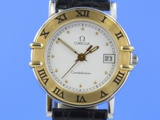 Omega Constellation Lady Stahl/Gold