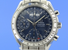 Omega Speedmaster Day-Date Blue