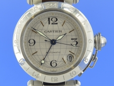 Cartier Pasha GMT 35 mm Automatik
