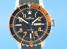 Fortis B-42 Aquatis Marinemaster Day/Date Orange