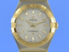 Omega Constellation 27mm Quarz Mother of Pearl