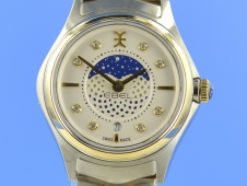 Ebel Wave Lady 30 mm Quarz Moonphase
