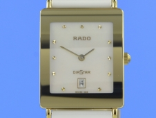 Rado DiaStar Ceramic Perlmutt Medium