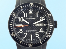 Fortis B-42 Black Edition Carbon Dial