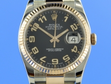 Rolex Datejust 36 mm Stainless steel/Rosègold
