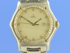 Ebel 1911 Medium Quarz Stahl/Gold