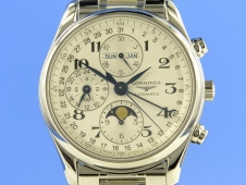 Longines Master Collection Calender Mondphase 40 mm